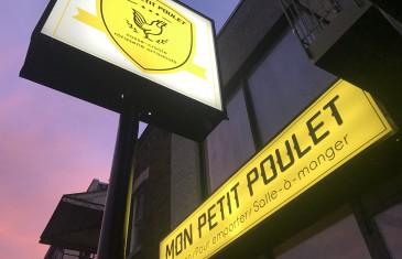 Mon Petit Poulet: le nouveau snack-bar cool et délicieux dans le quartier Rosemont