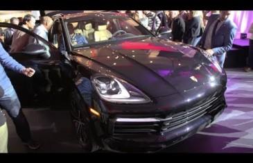 Vidéo | Porsche Lauzon dévoile la nouvelle Cayenne 2019