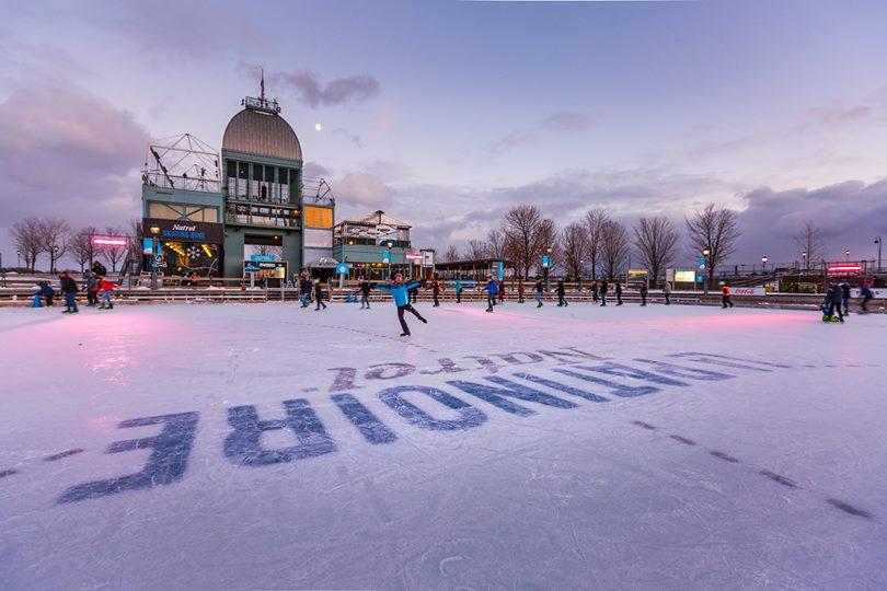 La patinoire du Vieux-Port est ouverte pour la saison hivernale