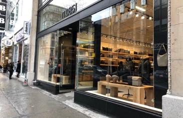 m0851 ouvre son nouveau magasin signature sur la rue Sainte-Catherine