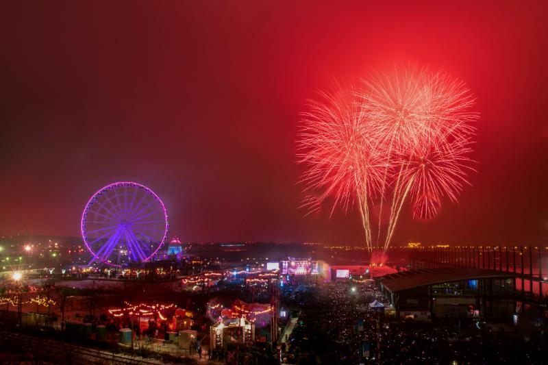 Photos   Montréal en Fêtes attire 175 000 personnes à son party du Jour de l'An