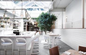 Perles et Paddock: un très beau restaurant épuré avec une cuisine raffinée à Griffintown
