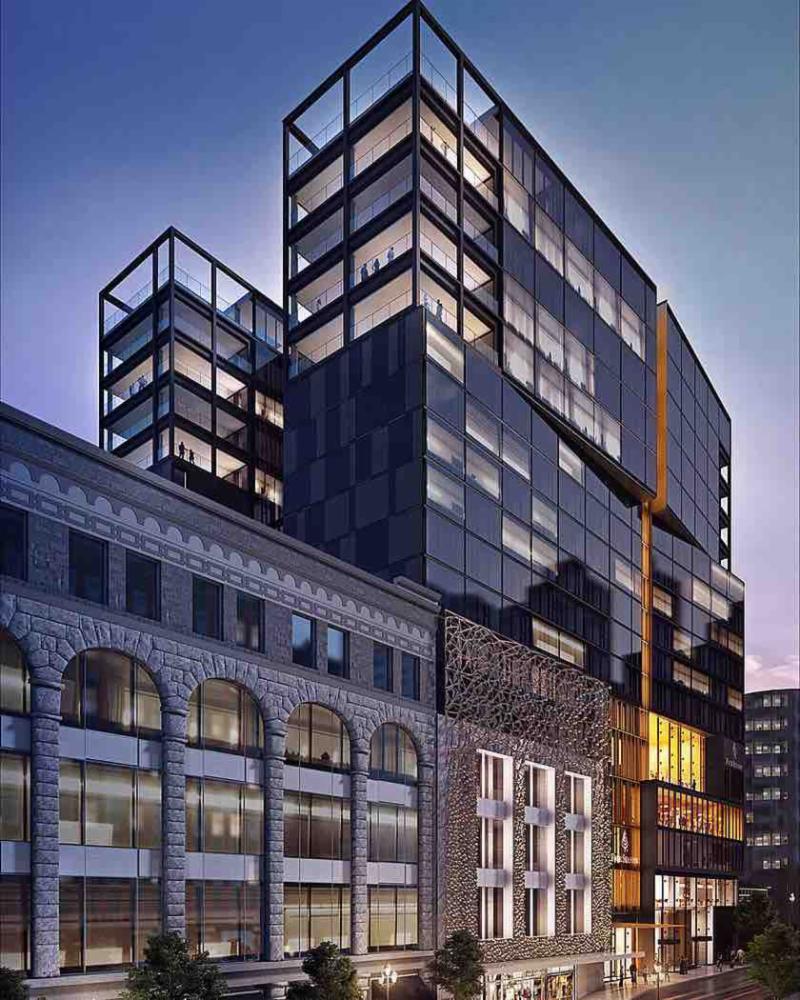 Le Four Seasons Hôtel Montréal ouvre officiellement le 8 mai