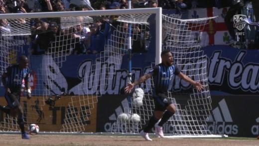 Vidéo   L'Impact remporte son premier match à domicile devant une belle foule au Stade Saputo
