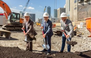 Victoria sur le Parc: la plus haute tour résidentielle à Montréal est maintenant en construction