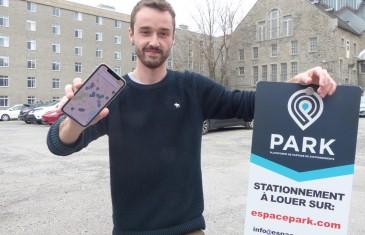 À seulement 19 ans, Liam Garneau créé le Airbnb du stationnement