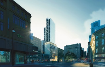 Le Groupe Brivia va construire la plus haute tour résidentielle à Montréal