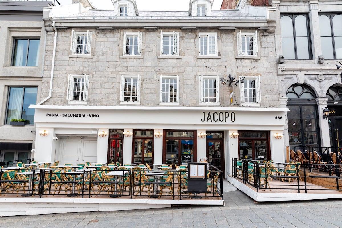 Jacopo: le nouveau restaurant italien branché dans le Vieux-Montréal