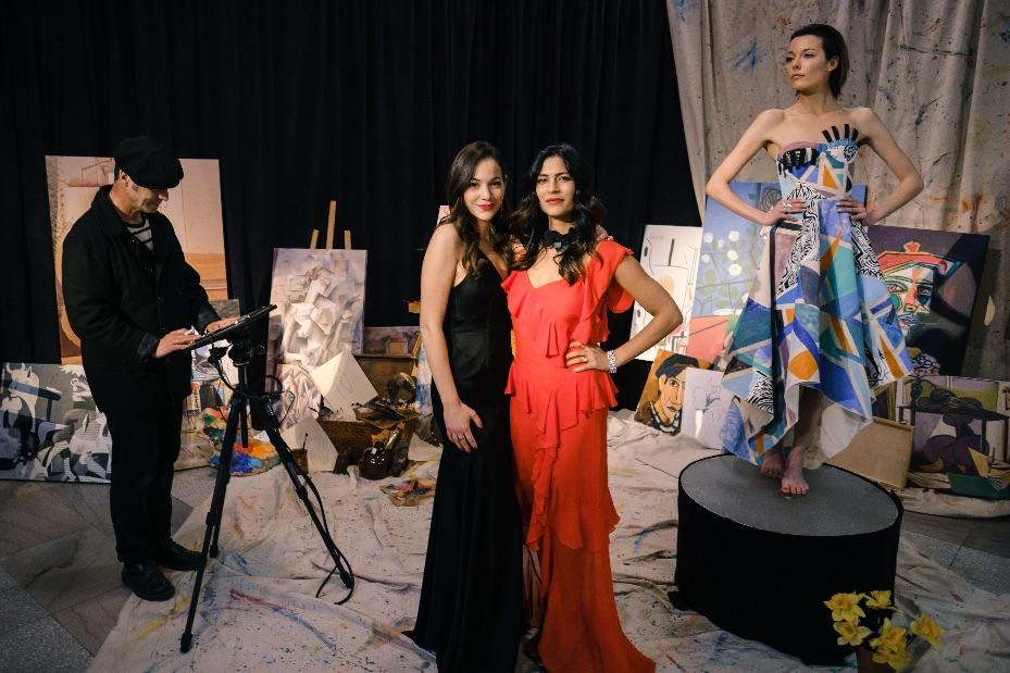 Karima Brikh & Virginie Coossa - credit Austin Schargorodski