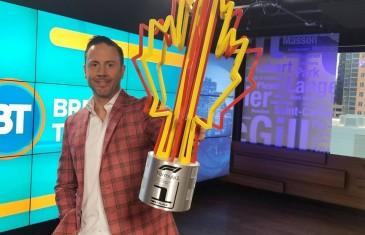 Jean-Philippe Caron le champion du design de trophées voit sa nouvelle création à l'honneur au Grand Prix du Canada