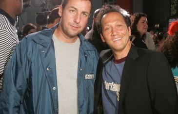 Adam Sandler et Rob Schneider en spectacle samedi soir au Centre Bell