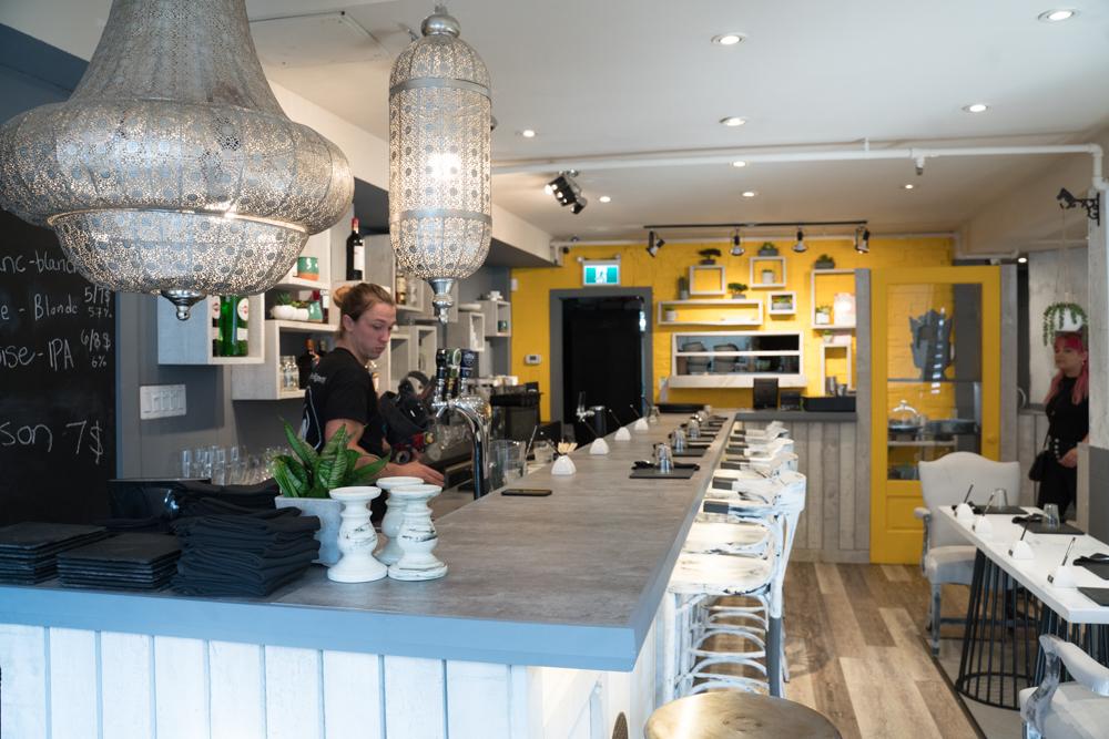 Photos | Le nouveau restaurant vegan Le Buddha ouvre au centre-ville de Montréal