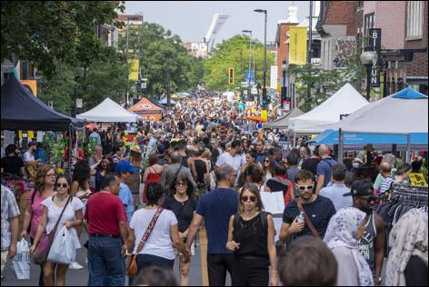 RU: la foire commerciale de l'Avenue du Mont-Royal a lieu ce week-end