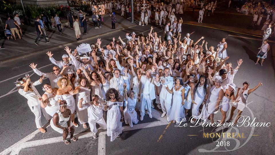 Le populaire Diner en Blanc aura lieu le jeudi 22 août à Montréal