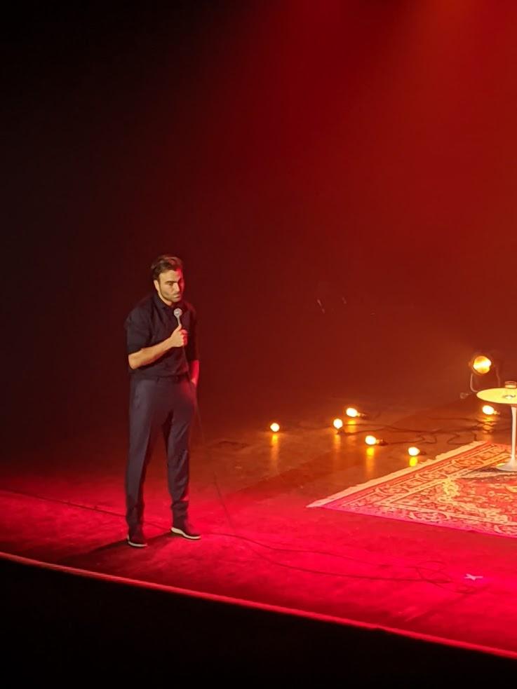 Une belle soirée…avec Simon Gouache pour son deuxième One Man Show