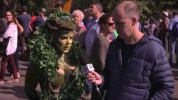 Vidéo Vox Pop: Guy Nantel à la Grande marche climatique et au…Cotsco