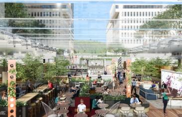 Le Cathcart Restaurants et Biergarten dévoile les restos de son impressionnant food hall à Montréal