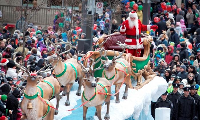 Le Défilé du Père Noël aura lieu le 23 novembre au centre-ville de Montréal