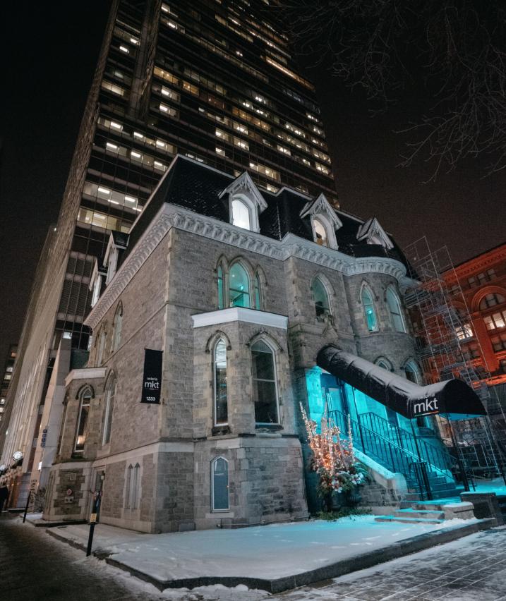 Le restaurant italien MKT déménage dans un presbytère du centre-ville de Montréal