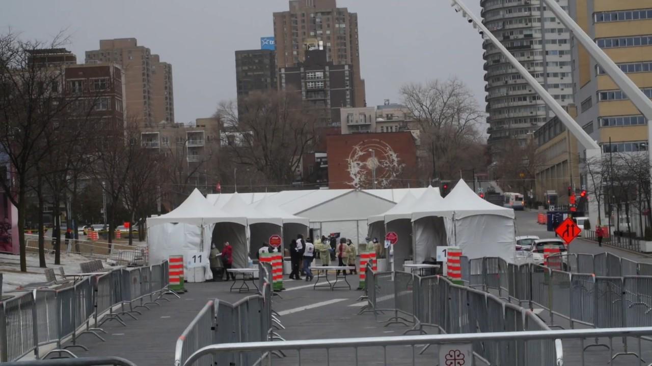 Vidéo | Nouvelle clinique Coronavirus Covid-19 sans rendez-vous à Montréal