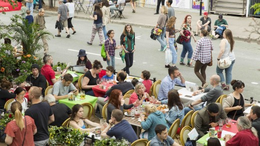 Gros Week-end Gourmand sur la rue Saint-Denis du 3 au 5 juillet