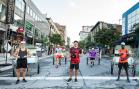 Photos | Le centre-ville de Montréal se réanime avec l'arrivée de XP_MTL