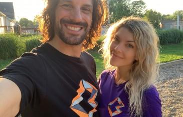 L'humoriste Mathieu Cyr et sa conjointe lancent une nouvelle entreprise dans le domaine du skateboard