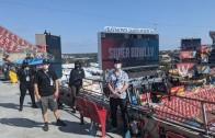 Vidéo | La compagnie montréalaise PixMob a illuminé le spectacle de la mi-temps du Super Bowl