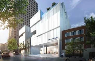 Vidéo | Le futur édifice de HEC Montréal au centre-ville portera le nom de Hélène Desmarais