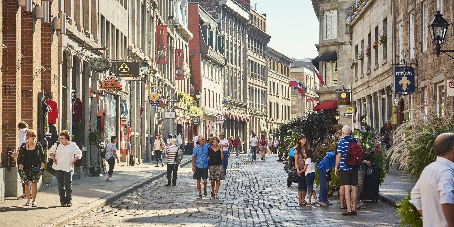 13 rues piétonnes cet été à Montréal