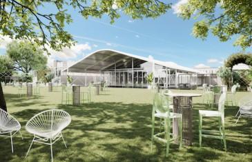 L'immense Jardin Royalmount à Montréal dévoile sa programmation pour l'été 2021