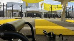 Un nouveau gym extérieur ouvre dans le quartier Villeray