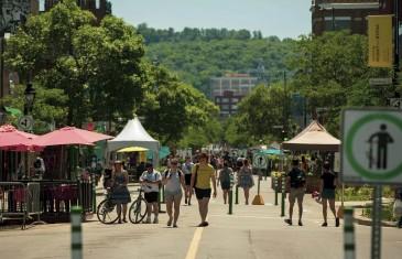 L'Avenue du Mont-Royal sera piétonne pour l'été à partir du 21 juin