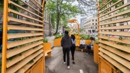 Un été coloré et cool au centre-ville de Montréal   Photos