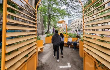Un été coloré et cool au centre-ville de Montréal | Photos